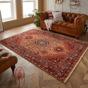 Nomad 4150 V Red Traditional Rug by Oriental Weavers
