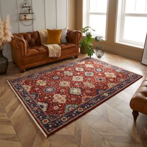 Nomad 4601 S Red Traditional Rug by Oriental Weavers