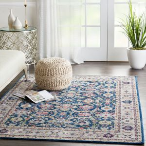 Nourison Ankara Global ANR13 Navy/Multicolor Rug