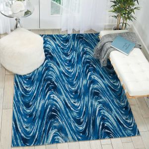 Nourison Organic Modern OM001 Ocean Rug