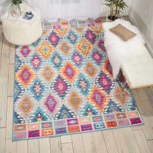 Nourison Passion PSN02 Multicolour Rug
