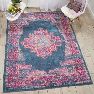 Nourison Passion PSN03 Blue Rug