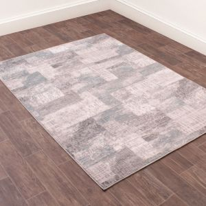 Odyssey Spectrum Blue Abstract Rug by Rug Style