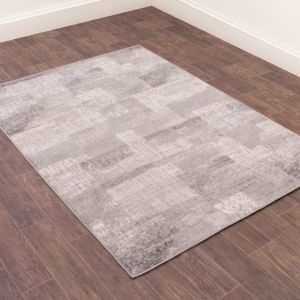 Odyssey Spectrum Grey Abstract Rug by Rug Style
