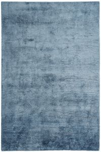 Onslow Blue Plain Rug by Katherine Carnaby