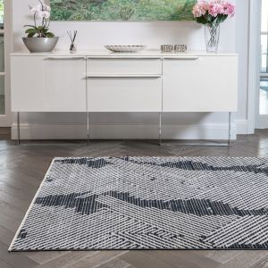 Onyx ONX07 Midnight Abstract Rug by Concept Looms