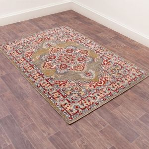 Orient 8917 Green Traditional Rug by Ultimate Rug