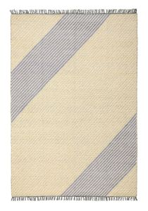 Oslo OSL701 Lemon Striped Rug by Concept Looms