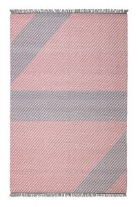 Oslo OSL702 Peony Striped Rug by Concept Looms
