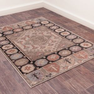 Oushak Anatolian Cream Traditional Rug by Prestige