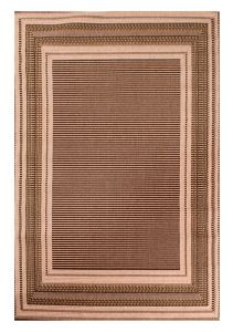 Outdoor Border Natural Rug by Rug Style