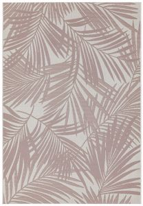 Patio PAT21 Pink Palm Rug by Asiatic