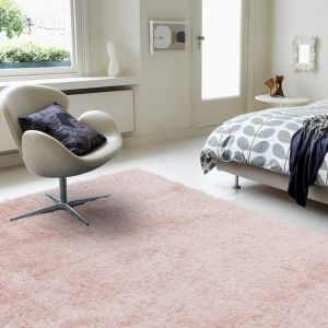 Payton Pink Plain Rug by Asiatic