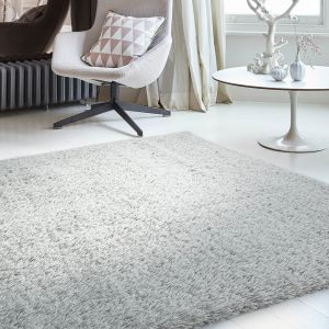 Payton Silver Plain Rug by Asiatic