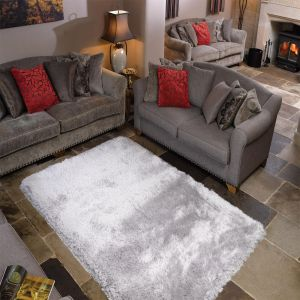 Pearl Silver Rug By Flair Rugs