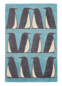 Pedro 023408 Marine Wool Rug by Scion