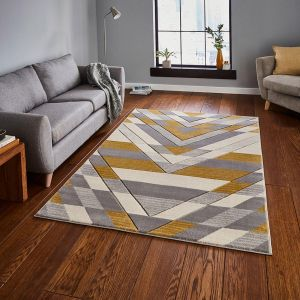 Pembroke G2075 Beige Yellow Rug by Think Rugs