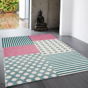 Play Hearts & Stripes Rug By Asiatic