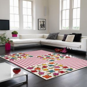 Play Patchwork Flower Rug By Asiatic