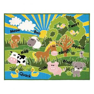 Playtime Animals Mat by Oriental Weavers