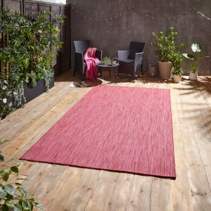 POP! Outdoors Red Rug by Think Rugs