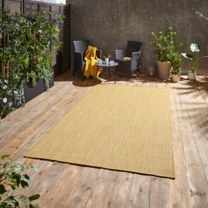 POP! Outdoors Yellow Rug by Think Rugs