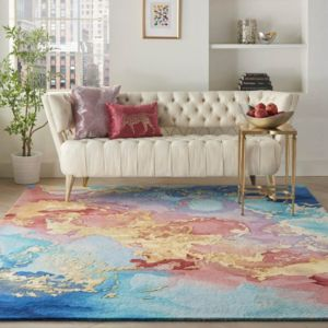 Prismatic PRS18 Multi Handmade Wool Rug by Nourison
