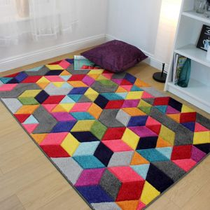 Spectrum Dynamic Multi Rug by Flair Rugs