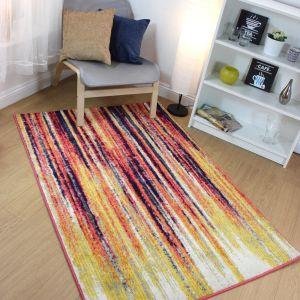 Radiant Stripe Multi Rug by Flair Rugs