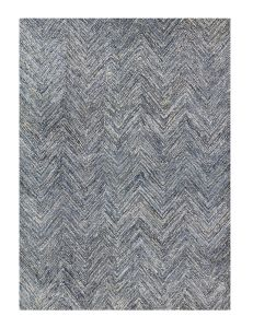 Raggs Denim Hand Tufted Rug by William Yeoward