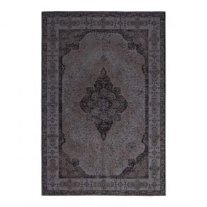 Retro Charcoal Traditional Rug by ITC