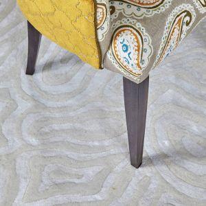 Rhoscolyn Cloud Hand Tufted Rug by William Yeoward