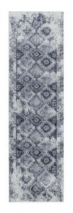 Richmond 5996 S Denim Blue Traditional Runner by Oriental Weavers