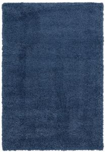 Ritchie Blue Shaggy Rug by Asiatic