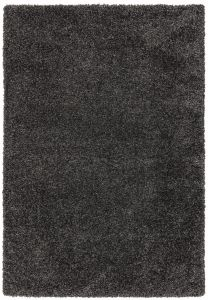 Ritchie Charcoal Shaggy Rug by Asiatic