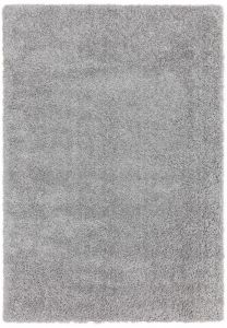 Ritchie Light Grey Shaggy Rug by Asiatic
