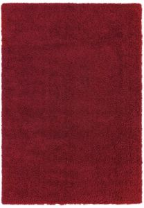 Ritchie Red Shaggy Rug by Asiatic