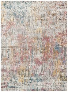 Rossa ROS01 Multi Abstract Rug by Concept Looms