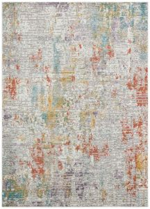 Rossa ROS02 Multi Abstract Rug by Concept Looms