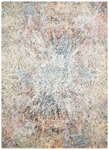 Rossa ROS10 Multi Abstract Rug by Concept Looms