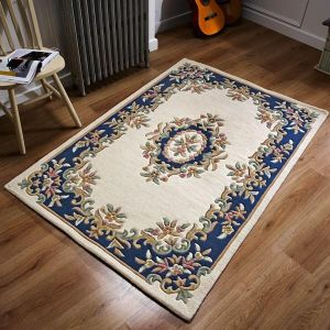 Royal Cream/Blue Traditional Rug by Oriental Weavers