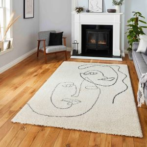 Royal Nomadic A175 Cream Grey Rug by Think Rugs