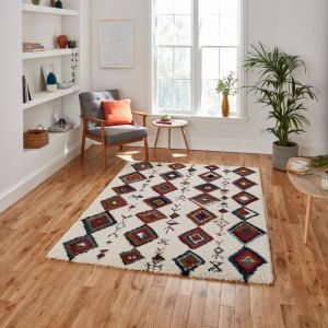 Royal Nomadic A636 Cream Multi Rug by Think Rugs