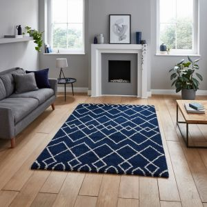 Royal Nomadic A638 Navy Rug by Think Rugs