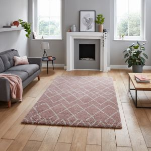 Royal Nomadic A638 Rose Rug by Think Rugs