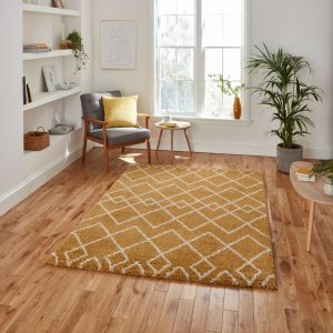 Royal Nomadic A638 Yellow Rug by Think Rugs