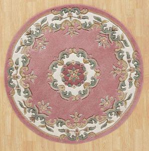 Royal Jewel JEW08 Rose Circle Traditional Rug By Oriental Weavers