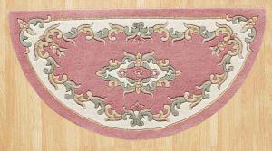 Royal Jewel JEW08 Rose Half Moon Traditional Rug By Oriental Weavers