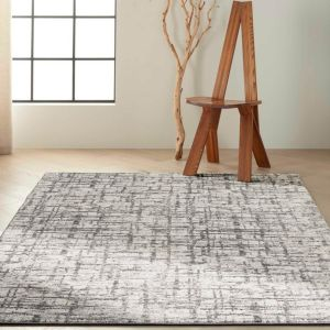 Rush CK952 Ivory Grey Rug by Calvin Klein