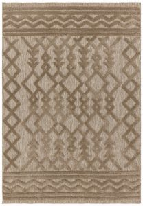 Salta SA04 Brown Rug by Asiatic